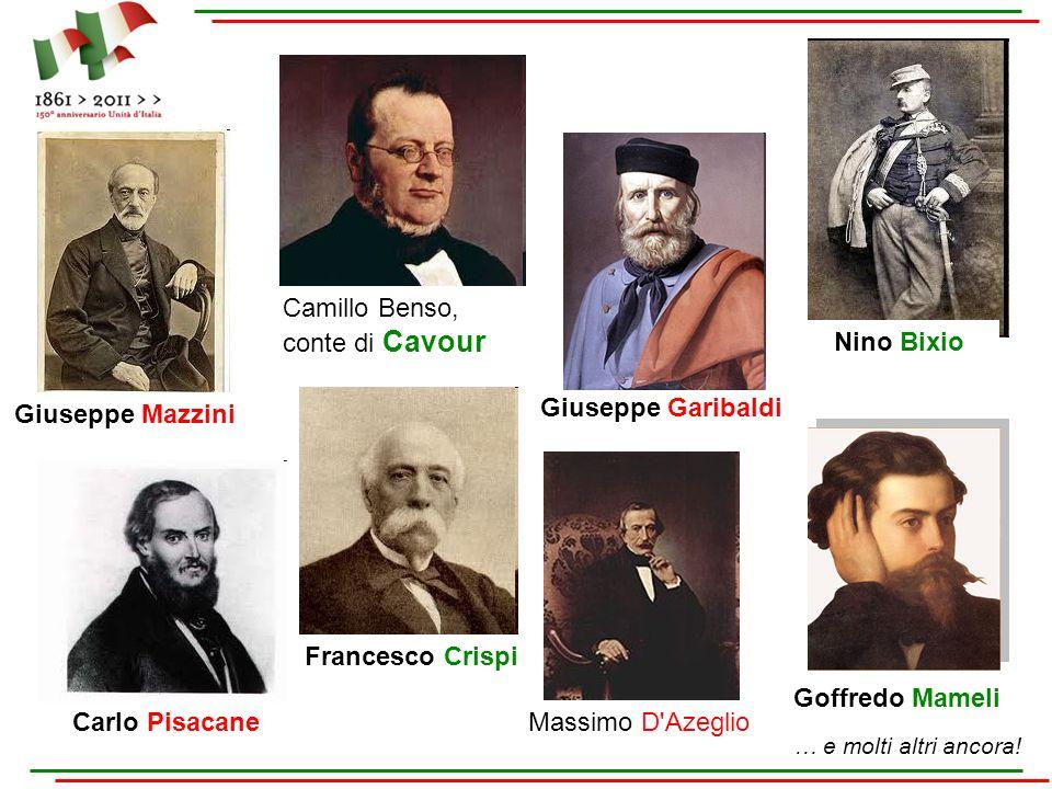 Camillo Benso, conte di Cavour Nino Bixio