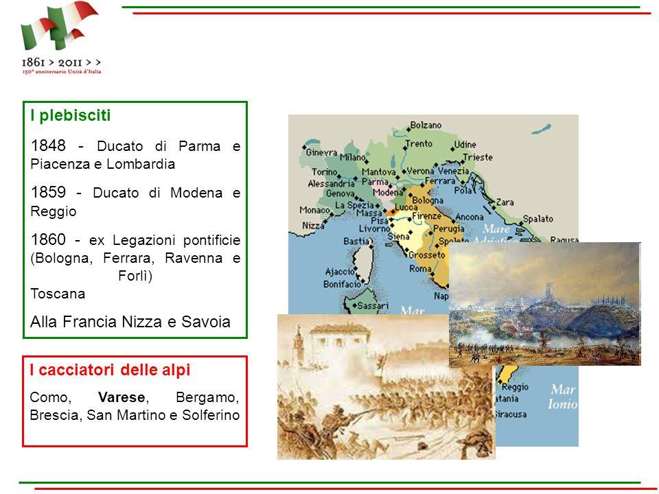 1848 - Ducato di Parma e Piacenza e Lombardia