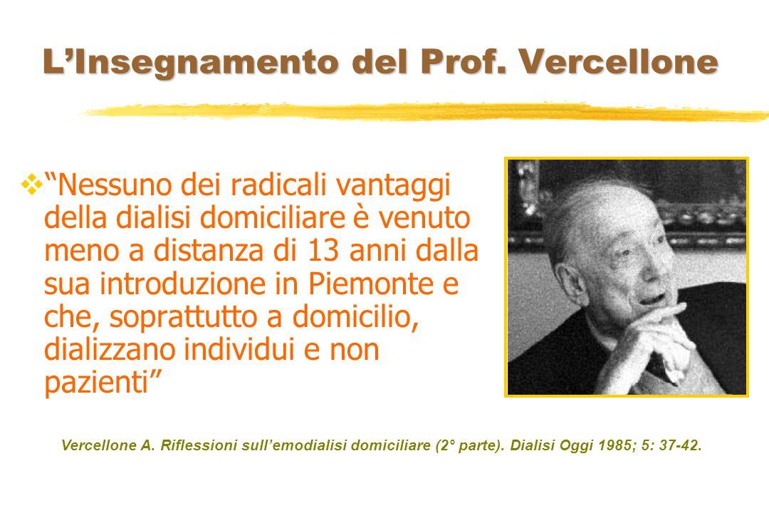 L'Insegnamento del Prof. Vercellone