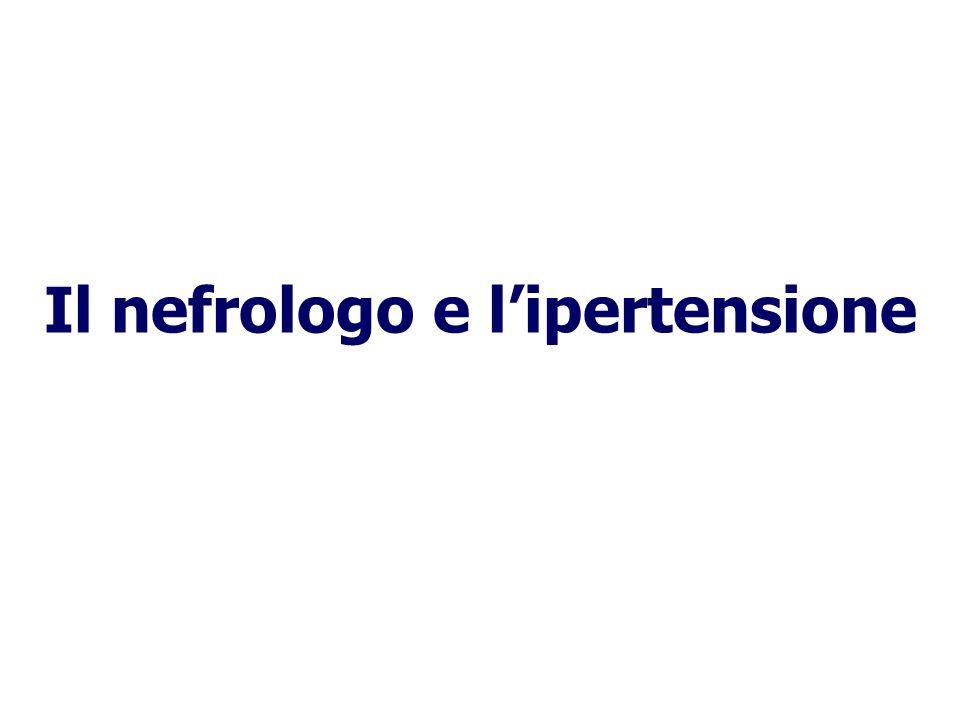 Il nefrologo e l'ipertensione