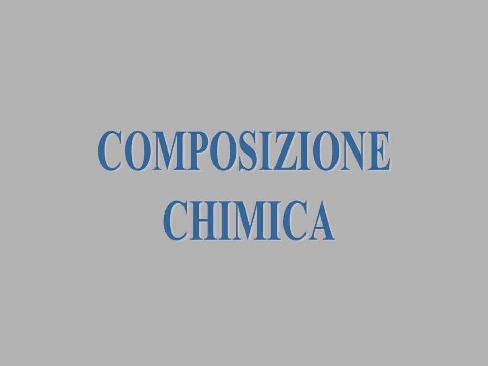 COMPOSIZIONE CHIMICA