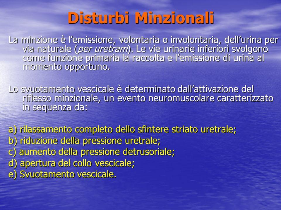 Disturbi Minzionali
