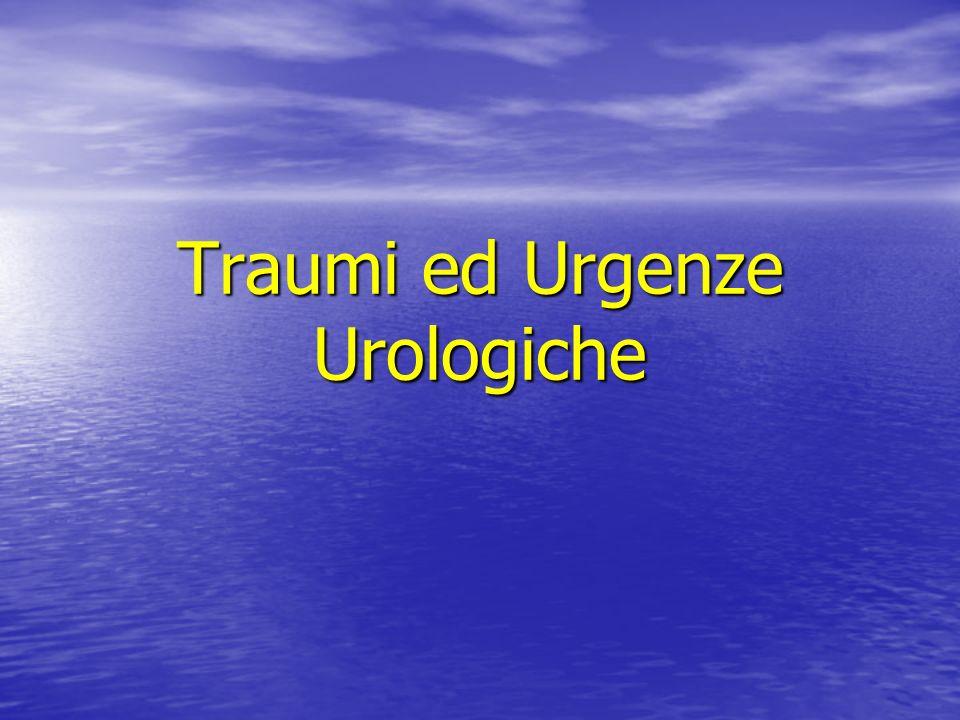Traumi ed Urgenze Urologiche