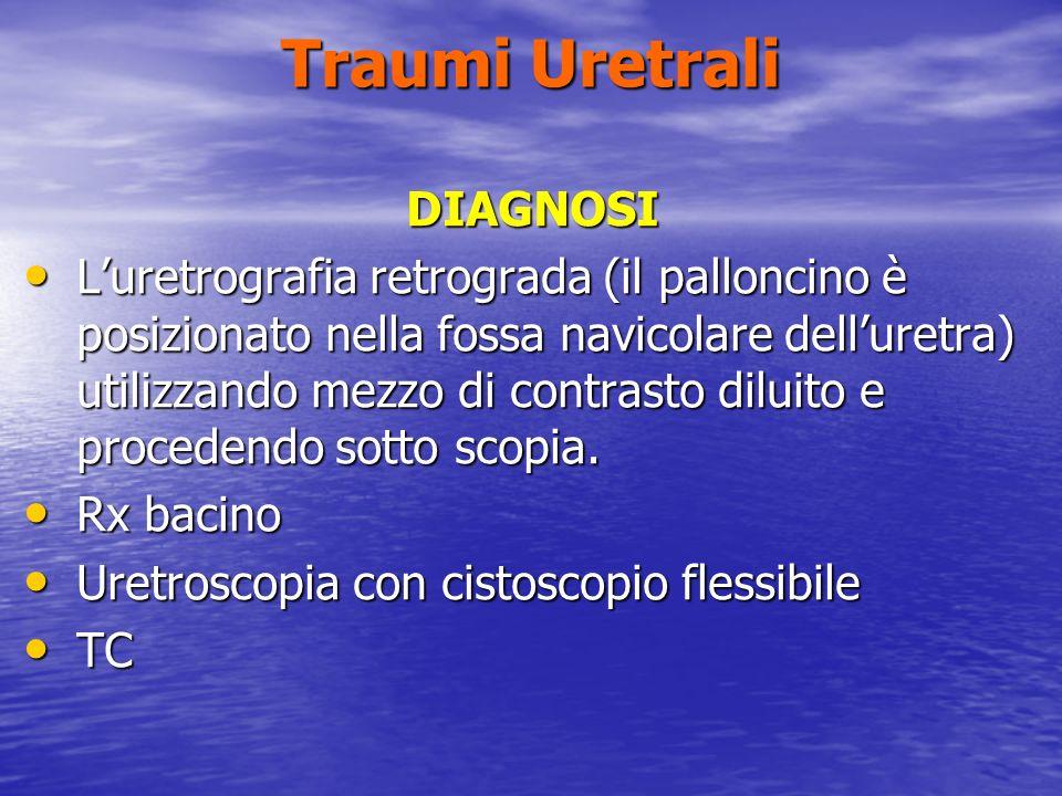 Traumi Uretrali DIAGNOSI