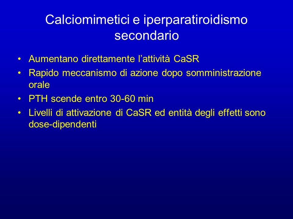 Calciomimetici e iperparatiroidismo secondario