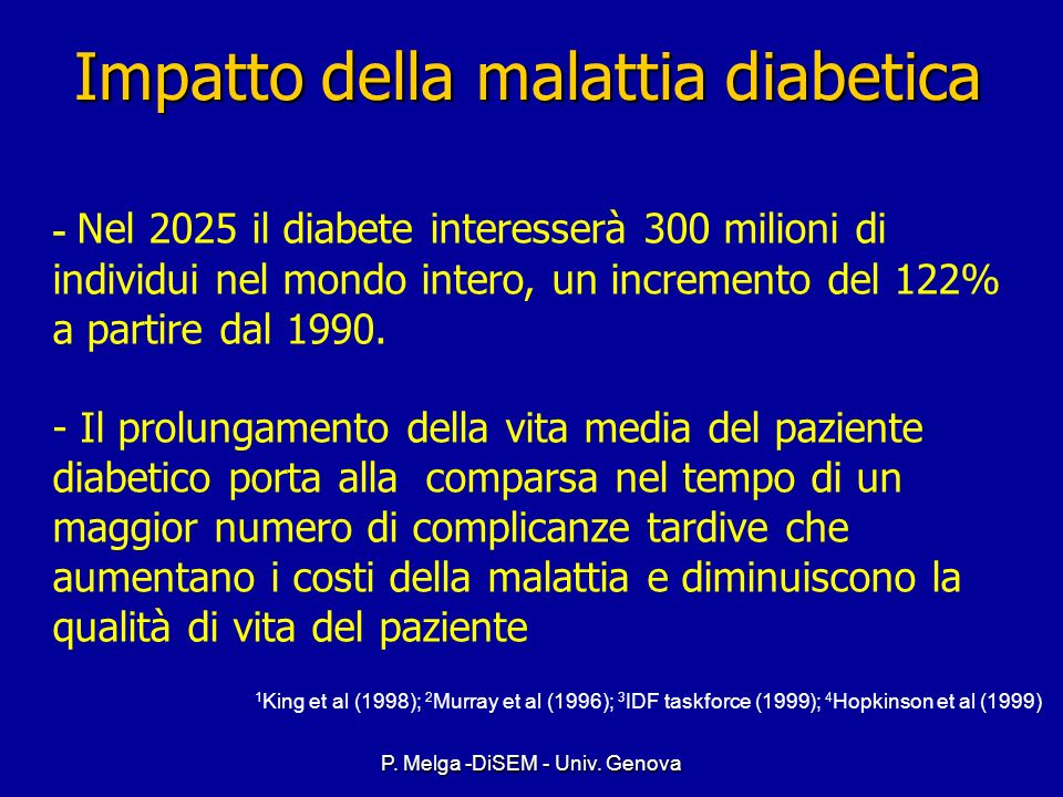 P. Melga -DiSEM - Univ. Genova