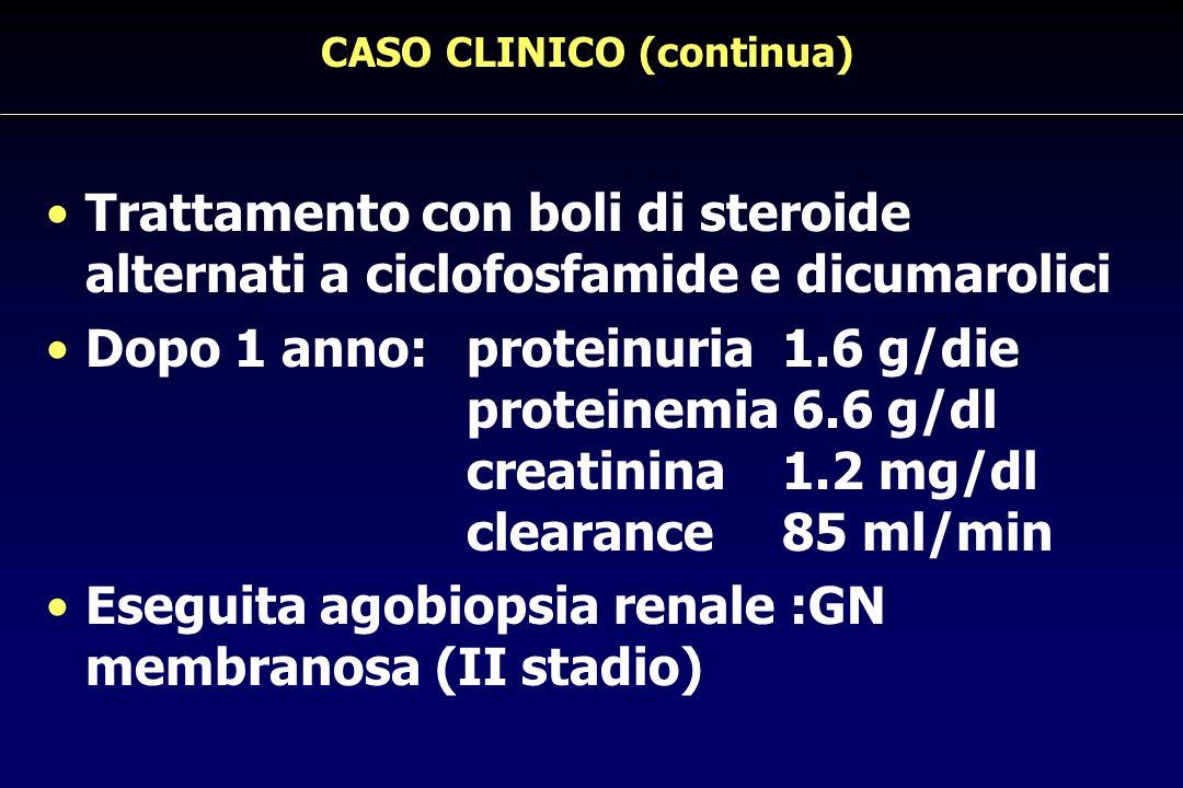 CASO CLINICO (continua)