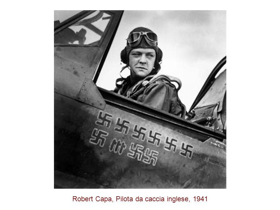 Robert Capa, Pilota da caccia inglese, 1941