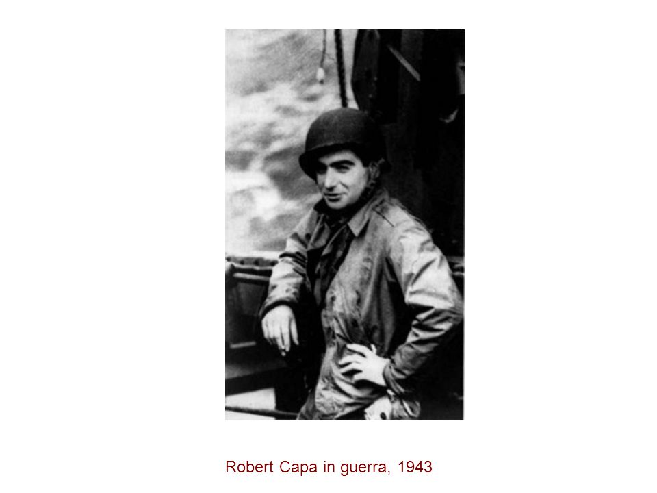 Robert Capa in guerra, 1943