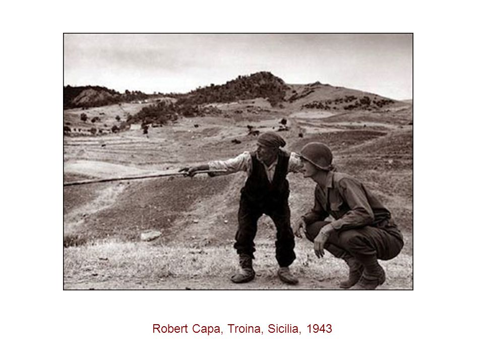 Robert Capa, Troina, Sicilia, 1943