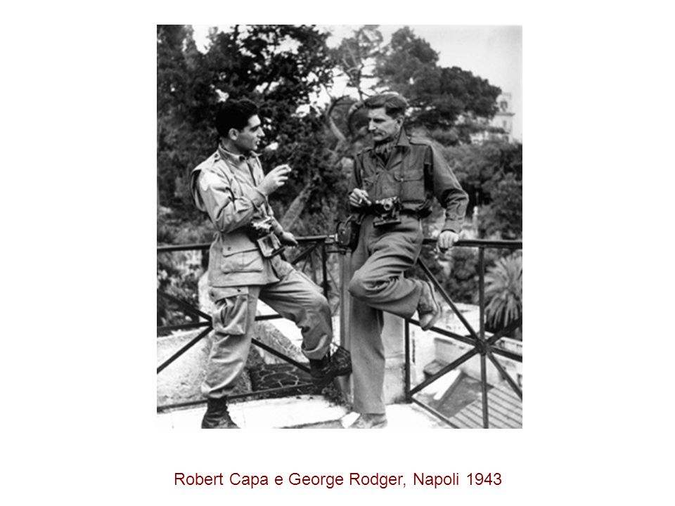 Robert Capa e George Rodger, Napoli 1943