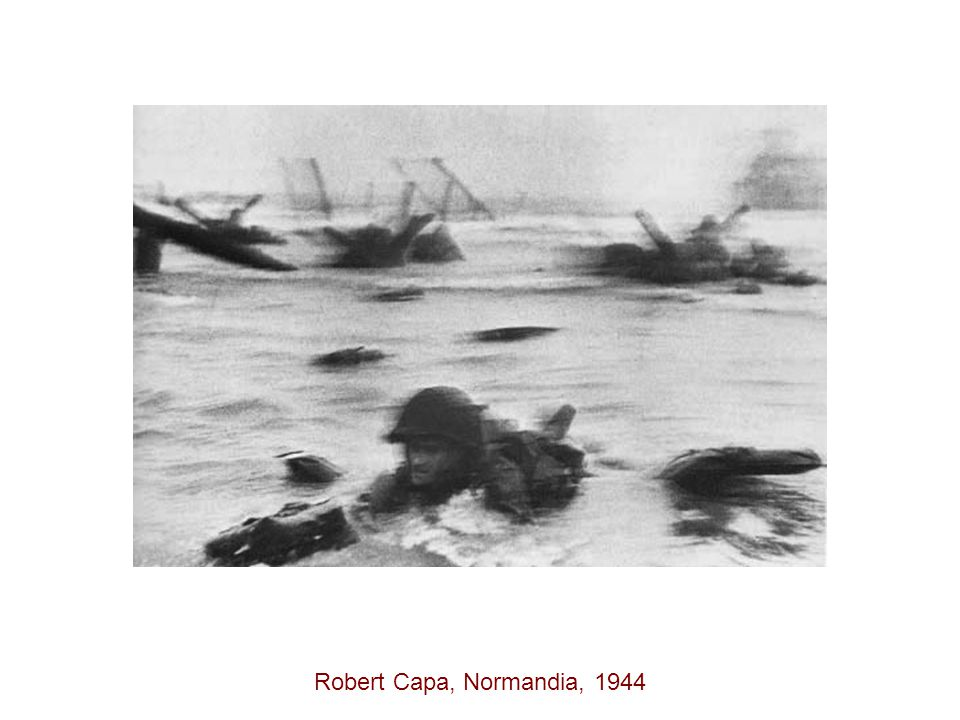 Robert Capa, Normandia, 1944