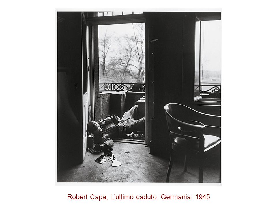 Robert Capa, L'ultimo caduto, Germania, 1945