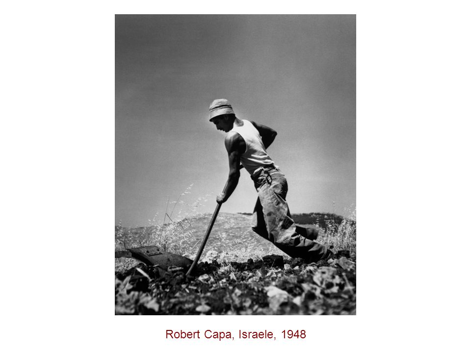 Robert Capa, Israele, 1948