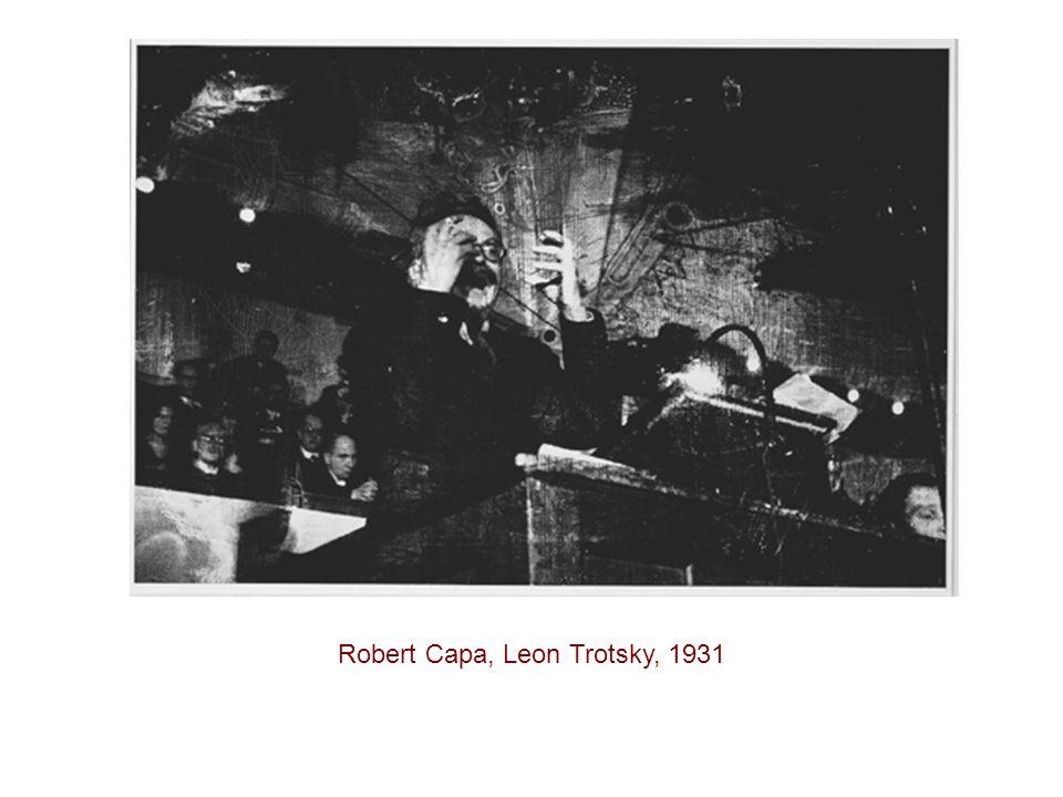 Robert Capa, Leon Trotsky, 1931