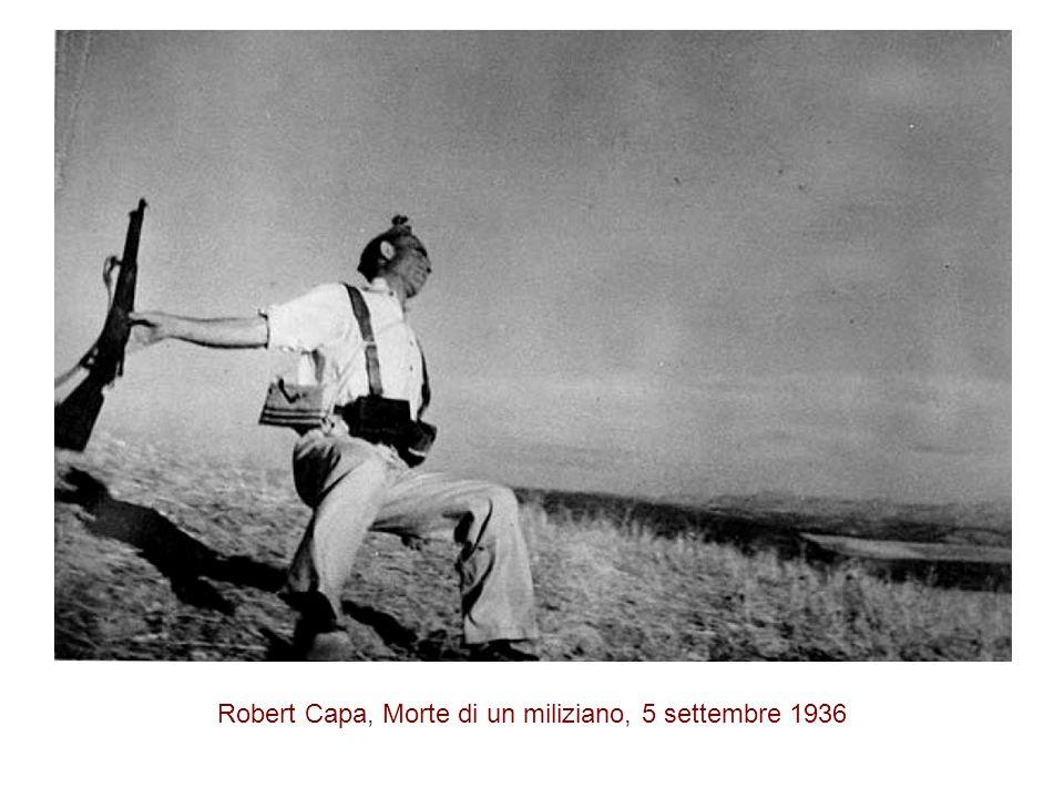 Robert Capa, Morte di un miliziano, 5 settembre 1936