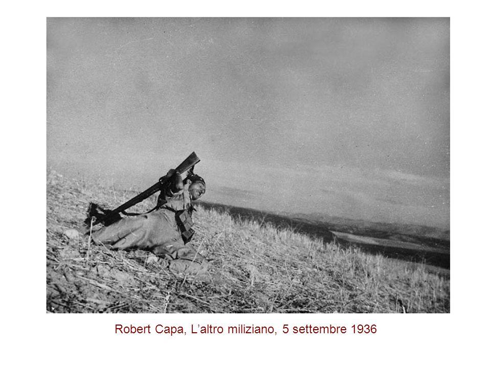 Robert Capa, L'altro miliziano, 5 settembre 1936