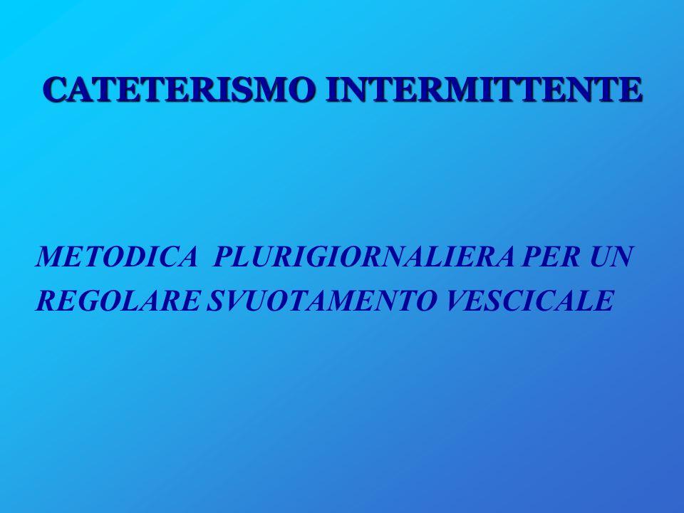 CATETERISMO INTERMITTENTE