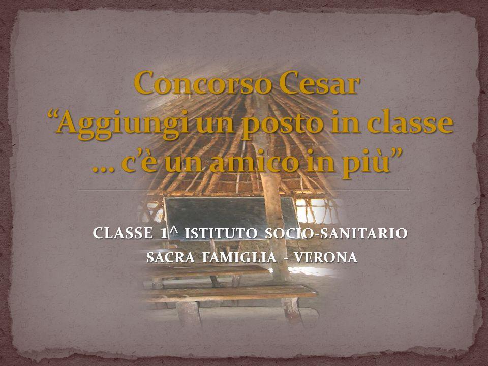 Concorso Cesar Aggiungi un posto in classe … c'è un amico in più
