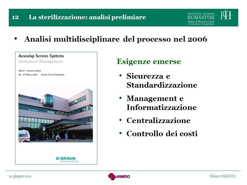 Analisi multidisciplinare del processo nel 2006