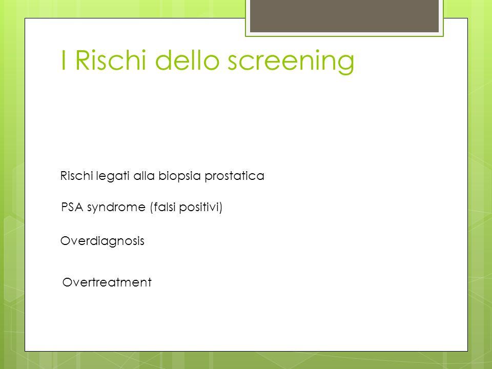 I Rischi dello screening