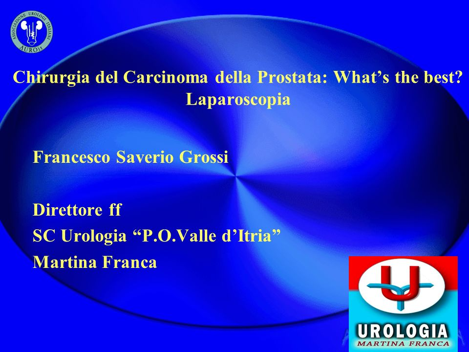 Chirurgia del Carcinoma della Prostata: What's the best Laparoscopia