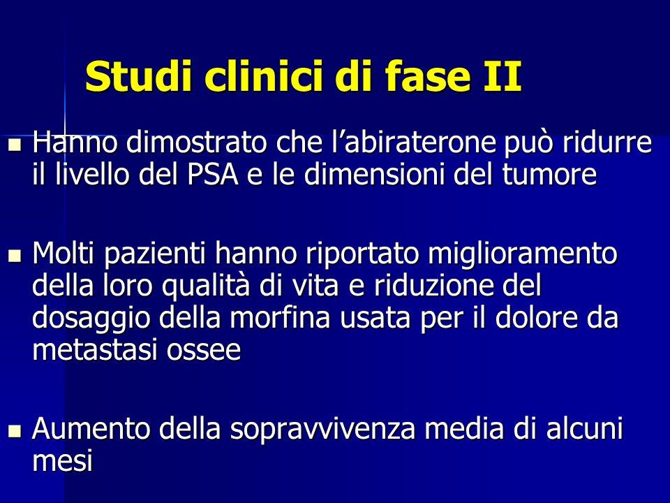 Studi clinici di fase II