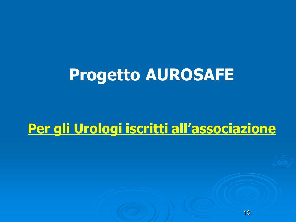 Per gli Urologi iscritti all'associazione