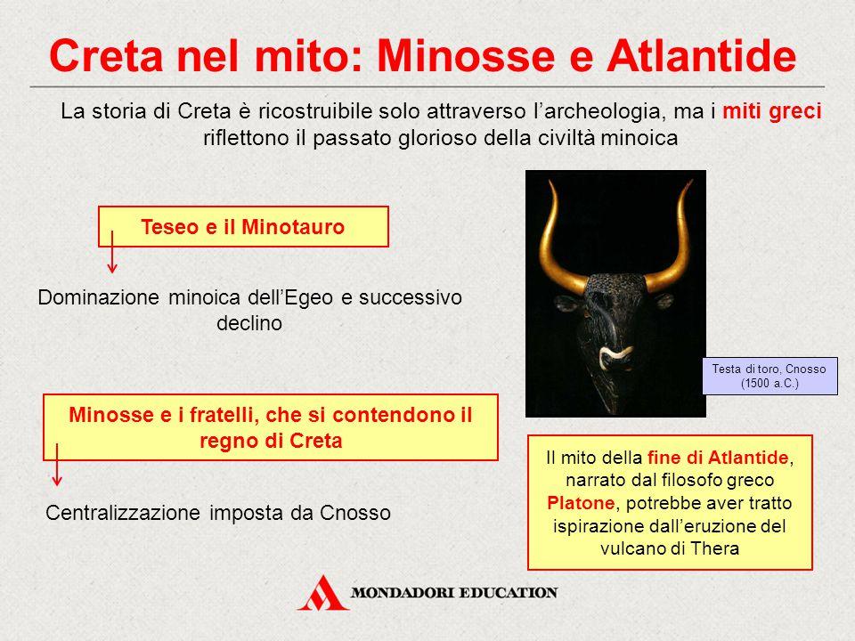 Creta nel mito: Minosse e Atlantide