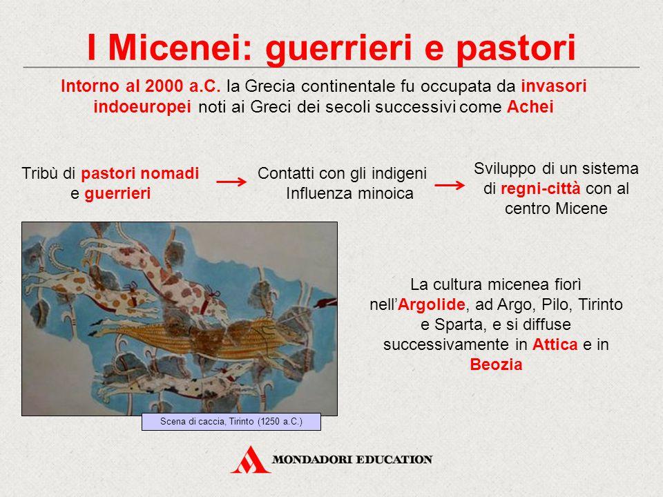 I Micenei: guerrieri e pastori