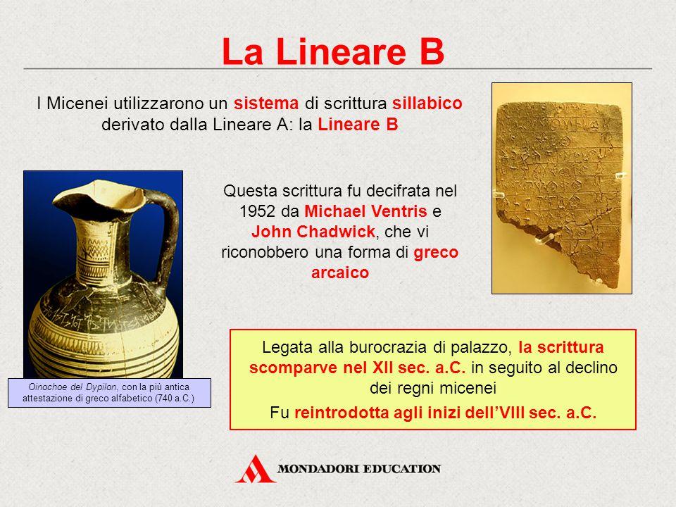 Fu reintrodotta agli inizi dell'VIII sec. a.C.