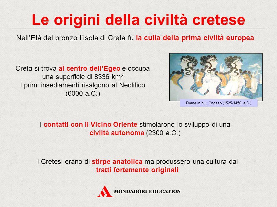 Le origini della civiltà cretese