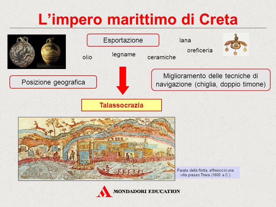 L'impero marittimo di Creta