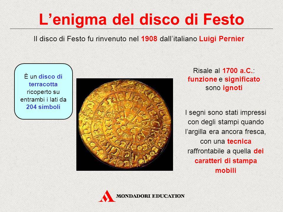 L'enigma del disco di Festo