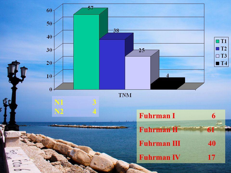 N1 3 N2 4. Fuhrman I 6. Fuhrman II 61.