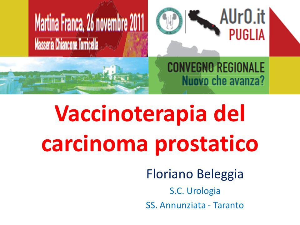 Vaccinoterapia del carcinoma prostatico