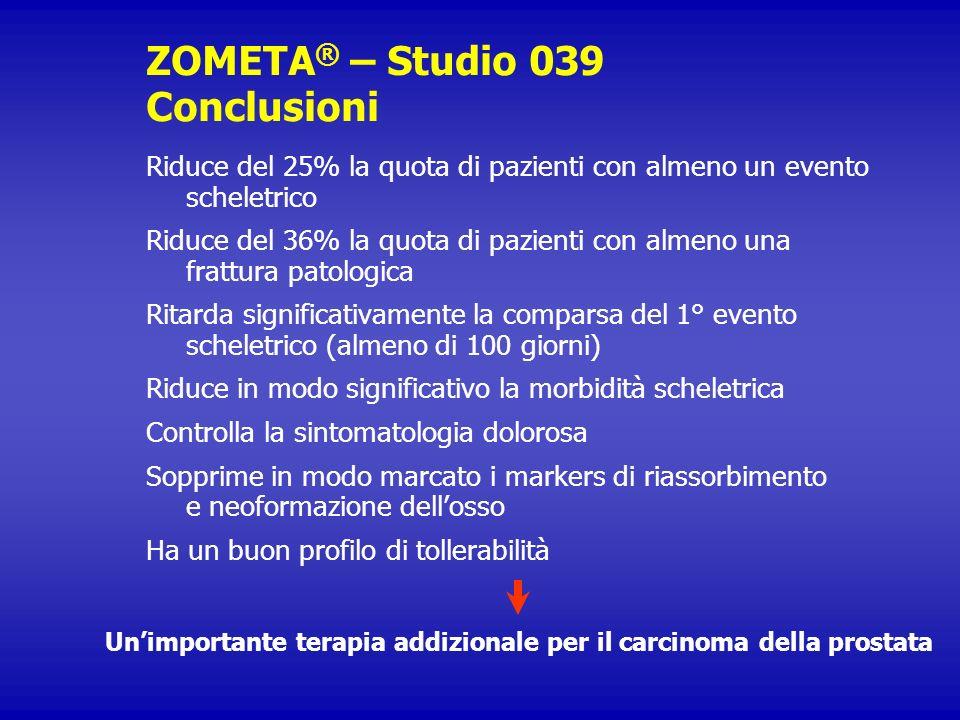 ZOMETA® – Studio 039 Conclusioni