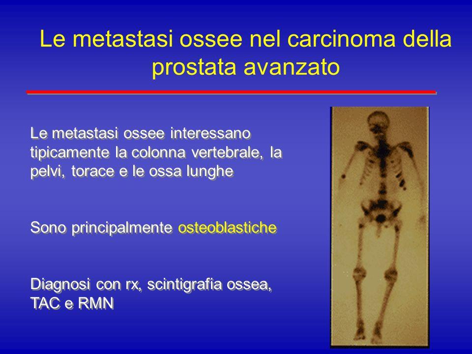 Le metastasi ossee nel carcinoma della prostata avanzato