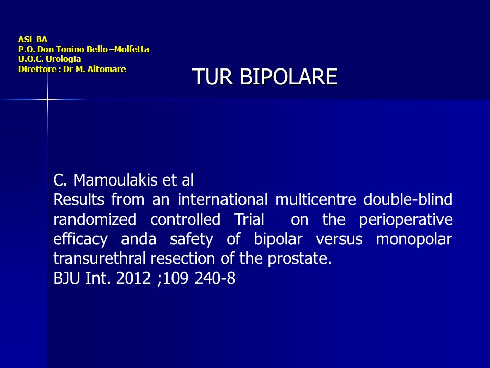TUR BIPOLARE C. Mamoulakis et al