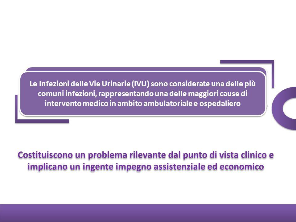 Le Infezioni delle Vie Urinarie (IVU) sono considerate una delle più comuni infezioni, rappresentando una delle maggiori cause di intervento medico in ambito ambulatoriale e ospedaliero