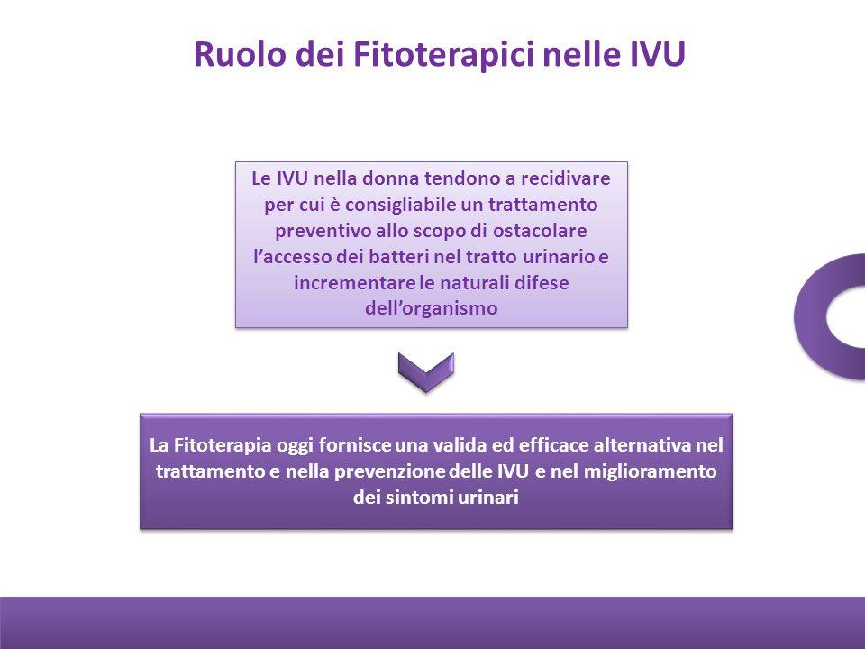 Ruolo dei Fitoterapici nelle IVU