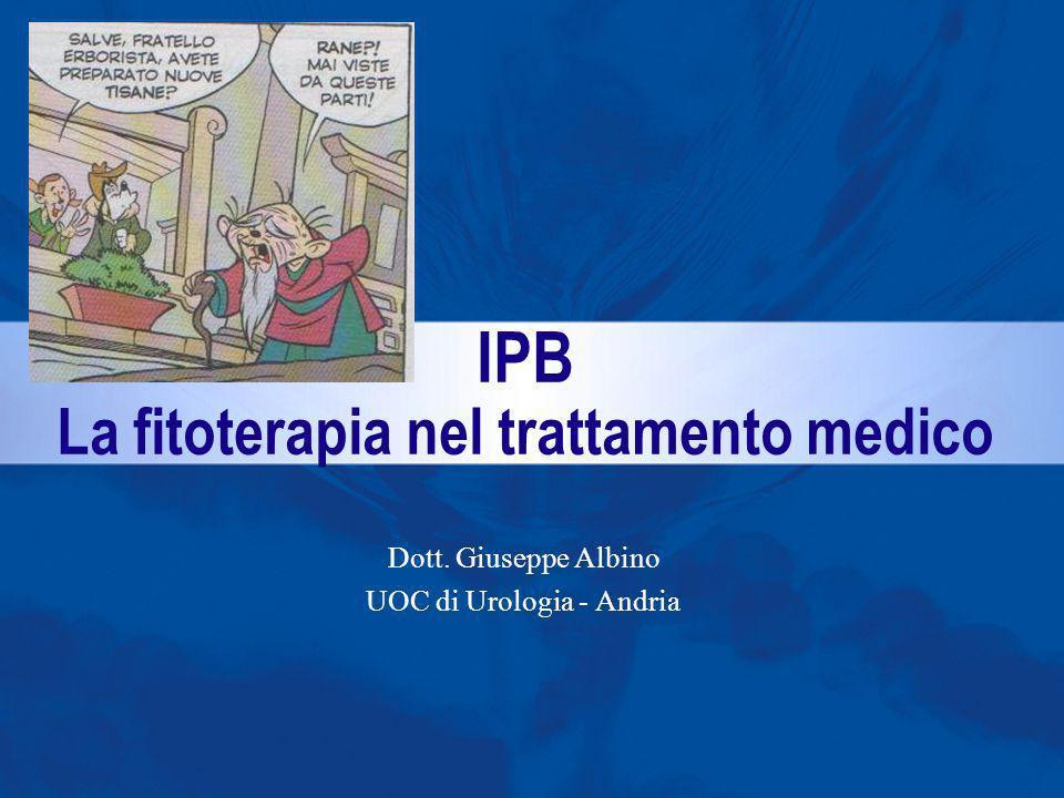 Dott. Giuseppe Albino UOC di Urologia - Andria