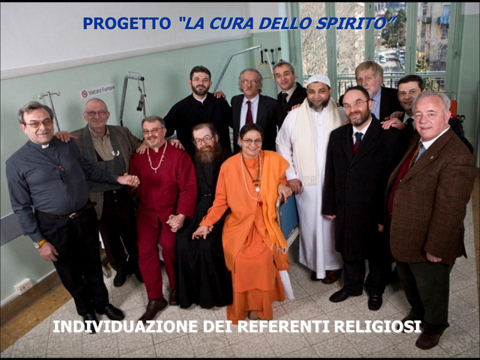 PROGETTO LA CURA DELLO SPIRITO