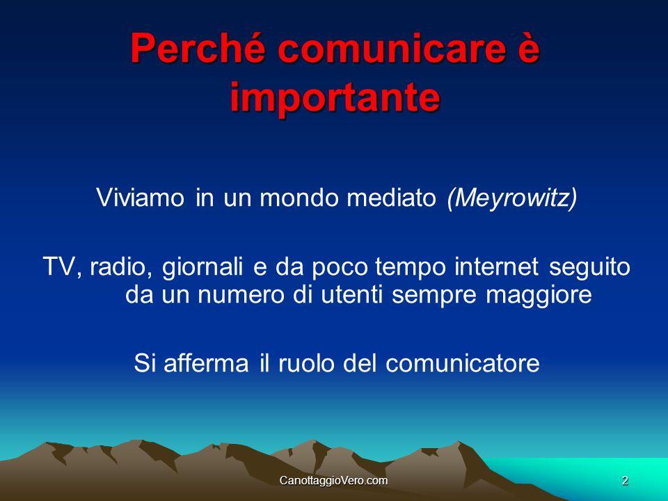 Perché comunicare è importante