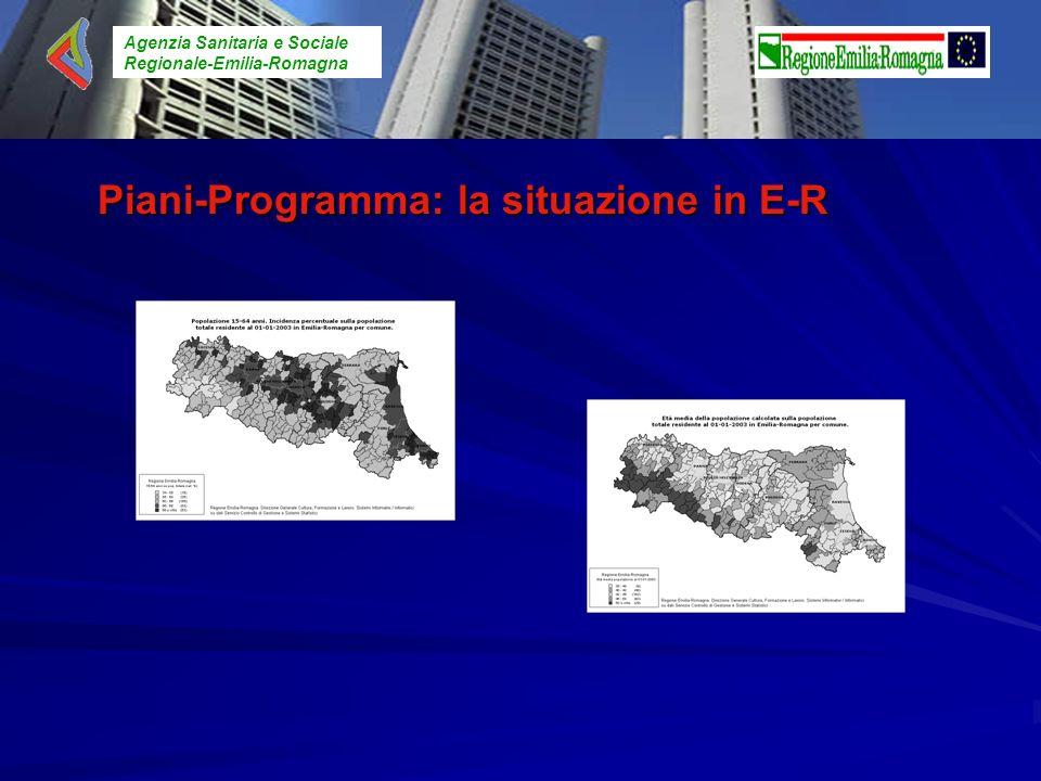 Piani-Programma: la situazione in E-R