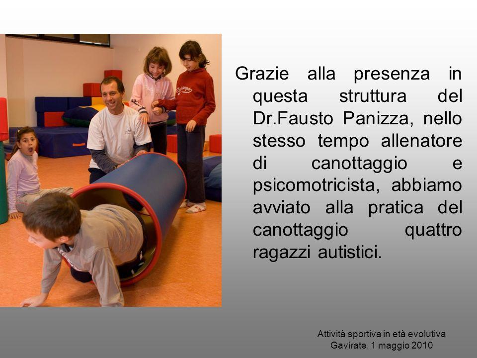 Attività sportiva in età evolutiva Gavirate, 1 maggio 2010