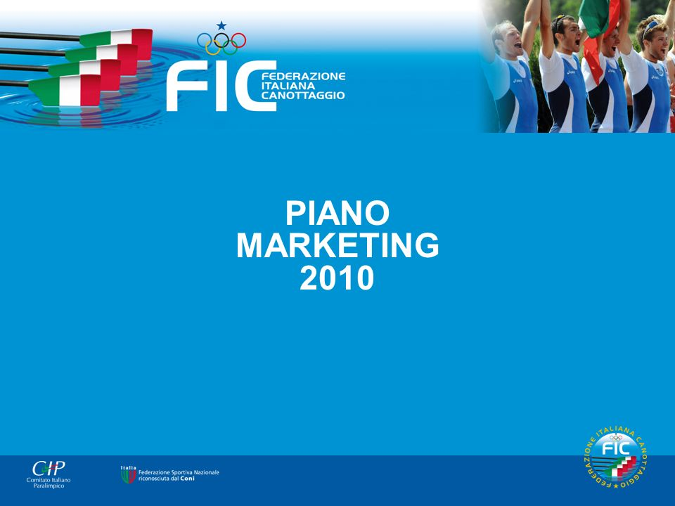 Copertina PIANO MARKETING 2010