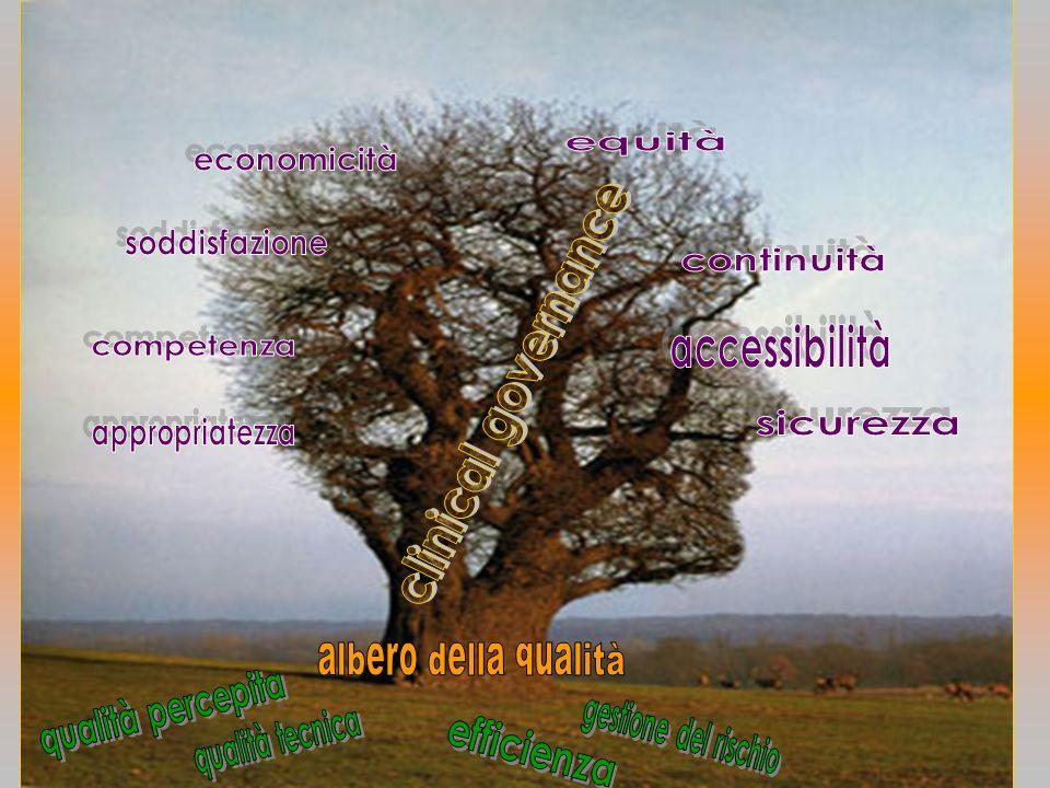 clinical governance albero della qualità qualità percepita