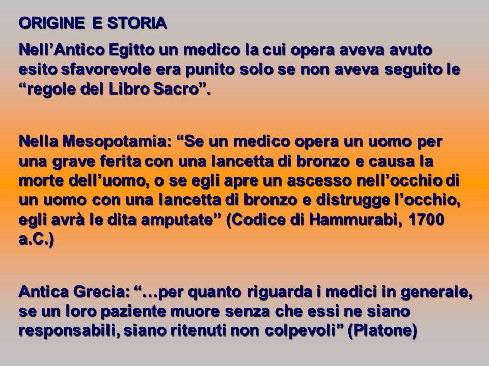 ORIGINE E STORIA