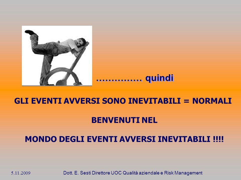 MONDO DEGLI EVENTI AVVERSI INEVITABILI !!!!